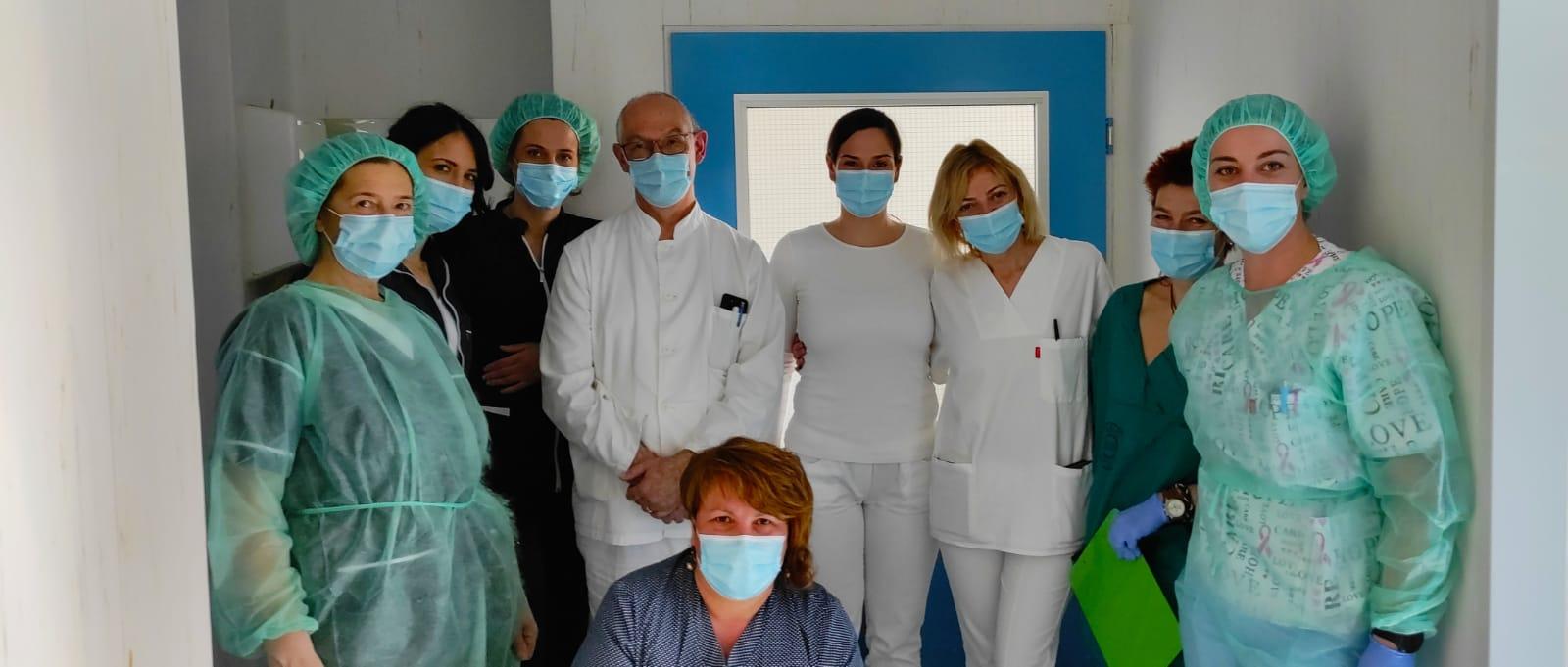 Tim koji je obavio prvu transplantaciju krvotvornih matičnih stanica u KBC Split