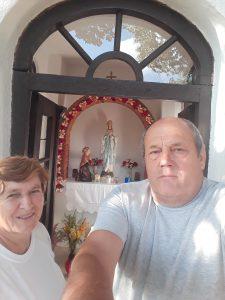 Nikola Popić sa suprugom